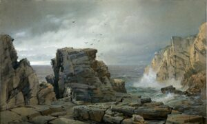 Taking You There: Nature's Sweeping Image in 'A Rocky Coast'