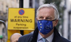 EU's Barnier Suspends Brexit Talks Over COVID-19 Contact