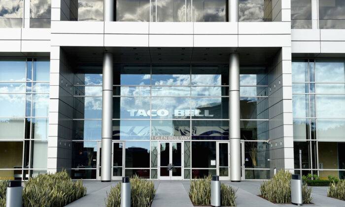 Taco Bell headquarters in Irvine, Calif.  (Joshua Blanchard/Getty Images for Taco Bell)