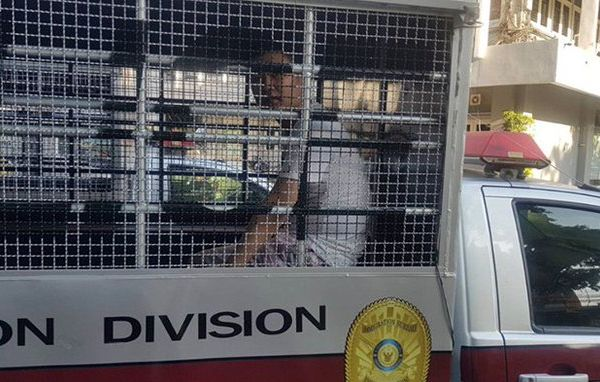 Chinese Dissident and UN Refugee Xing Jian Was Arrested by Thai Police at the Request of Chinese Police on Nov. 25, 2019. Provided to The Epoch Times by the Interviewee.