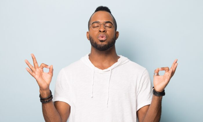 The body needs oxygen in volumes that many people fail to deliver due to inadequate breathing. Meditation and other disciplines often focus on this critical biological need.  (fizkes/Shutterstock)
