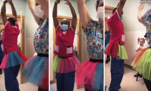5-Year-Old Cancer Patient Loves Ballet–So Doctors in Tutus Perform 'Swan Lake' for Her