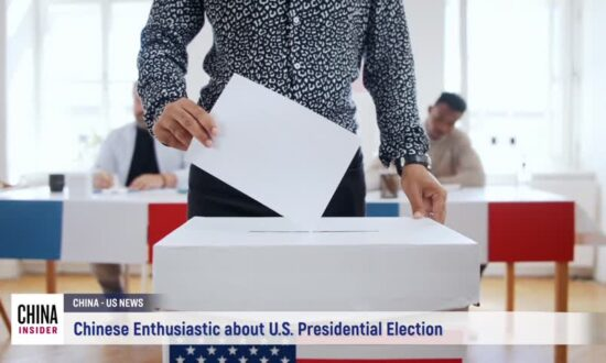 Chinese Enthusiastic About U.S. Presidential Election