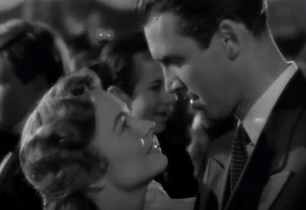 Mary Hatch and George Bailey