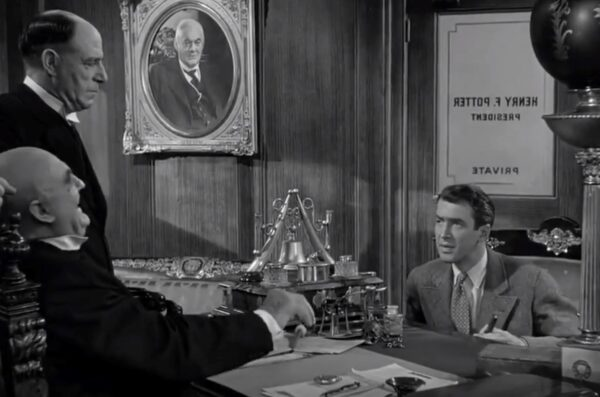 Mr. Potter and George Bailey