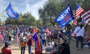 Arizona 'Stop the Steal' Rally Draws Large Crowd