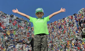 Boy Who Started His Company When He Was 3.5 Years Old Has Recycled Over 1 Million Cans