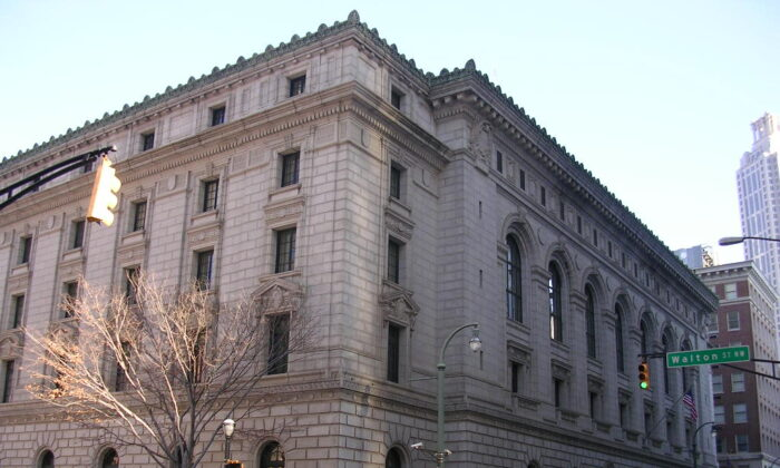 Elbert P. Tuttle U.S. Courthouse, home of the 11th Circuit Court of Appeals, in Atlanta, Ga. on Nov. 20, 2007. (Eoghanacht via Wikimedia Commons/Public Domain)