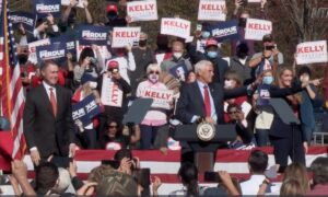 Pence Campaigns for Georgia Senators