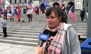 Pennsylvania Election Fraud Protester: 'We Need to Stop Being Afraid'