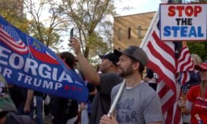 Trump Supporters Rally in Atlanta Demanding Fair Election