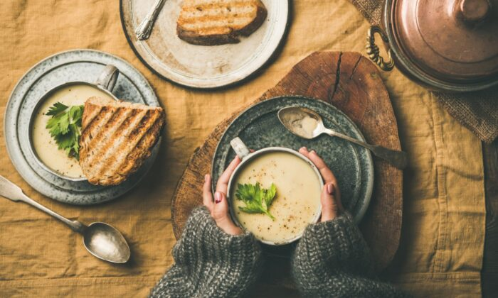 Whether to chase away the cold, comfort the sick, or welcome a new parent, few things are as warm and nourishing as soup. (Foxys Forest Manufacture)