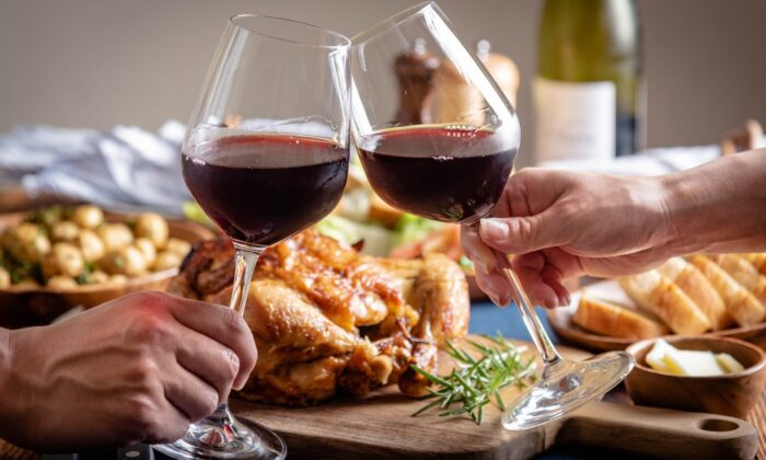 I look at the Thanksgiving table as an opportunity. Start with the premise that there is no single wine that suits each course and pleases every palate. (Atsushi Hirao/Shutterstock)