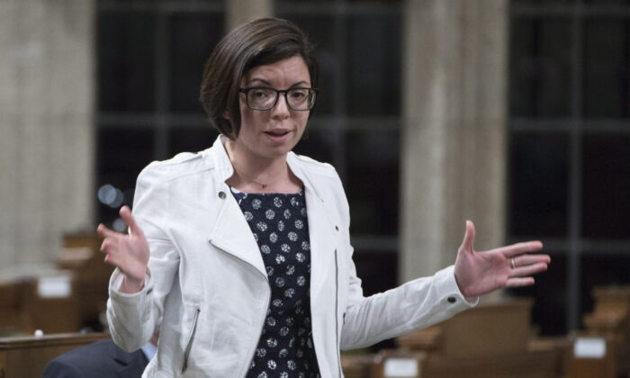 NDP MP Niki Ashton speaks in the House of Commons in a file photo. (Adrian Wyld/The Canadian Press)