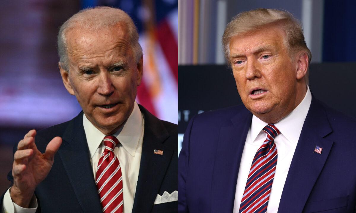 Biden, Trump Wish Americans a 'Happy Easter'