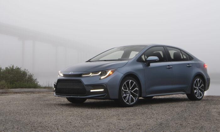 2021 Toyota Corolla XSE in Celestite Gray Metallic (Courtesy of Toyota)