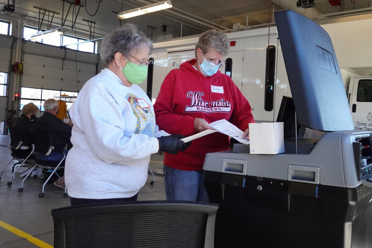 Wisconsin Counts Ballots On Election Day Amid Tight Presidential Race