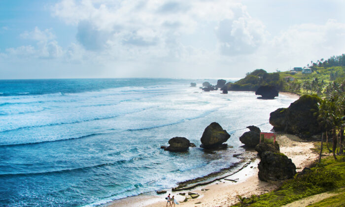 Bathsheba is a world-famous surfing destination. (Courtesy of Barbados Tourism)