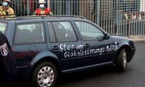 Car Crashes Into Gate of Angela Merkel's Office in Berlin