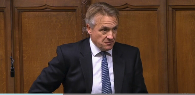 Sir Charles Walker MP. (Screenshot/Parliament TV)