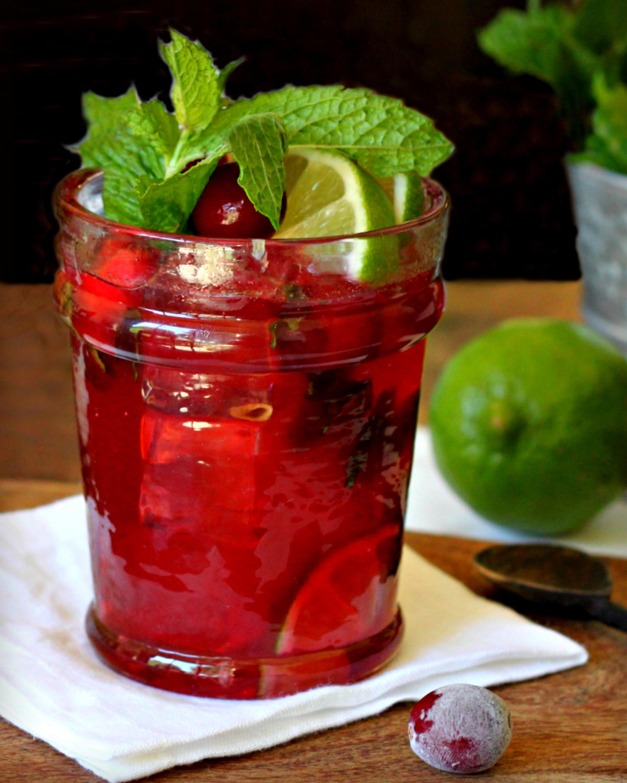 Cranberry-Bourbon Citrus Smash