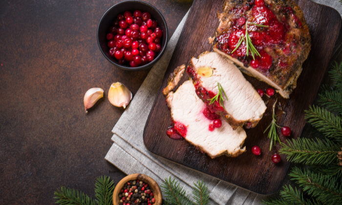 Add cranberries to chutneys, relishes, and other savory sauces to accompany snacks and meat dishes—beyond turkey. (nadianb/Shutterstock)