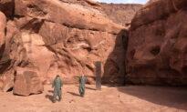 Space Oddity? Monolith in Utah Desert Mystifies Helicopter Crew