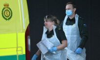 Swab Survey Shows CCP Virus Infections Falling in England