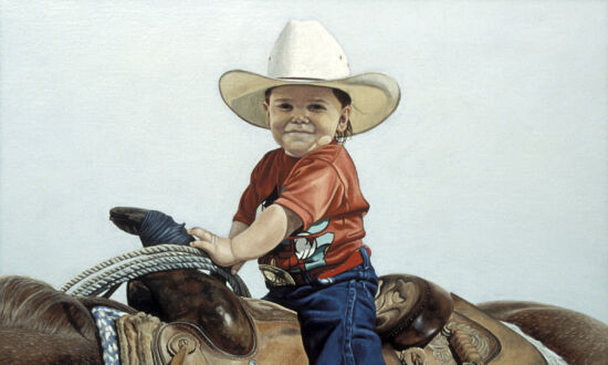 Painter Clark Louis Gussin's Real American West