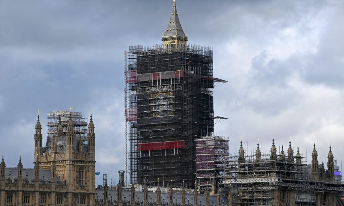 Scaffolding Big Ben