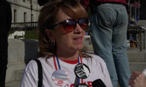Election Fraud Protester: 'We Cannot Let Evil Back Into the White House'