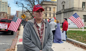 New Jersey Voter Says Trump Is the Only One Pushing Against the Left and China