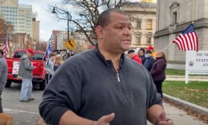 Election Fraud Protest Organizer: 'Together We're Strong'