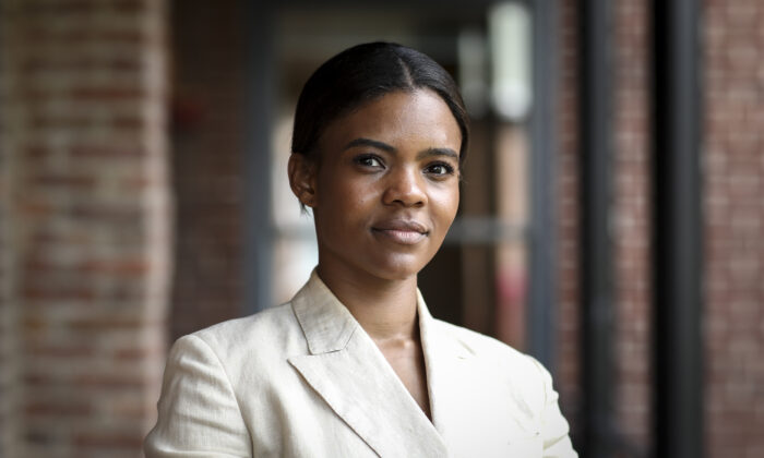Candace Owens, a conservative commentator and political activist, in Washington on June 25, 2019. (Samira Bouaou/The Epoch Times)