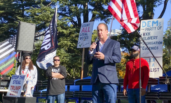Californians Hold Anti-Lockdown, Anti-Fraud Protest on Thanksgiving Weekend