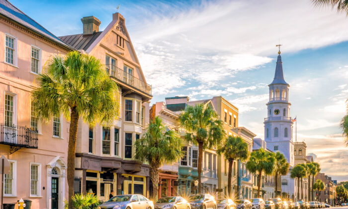 Charleston's historic downtown. (f11photo/Shutterstock)