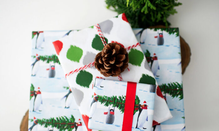 Wrappily's gift wrap. (Courtesy of Wrappily)
