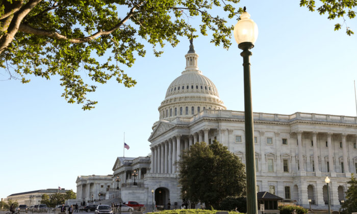 The Capitol in Washington on Sept. 21, 2020. (Samira Bouaou/The Epoch Times)