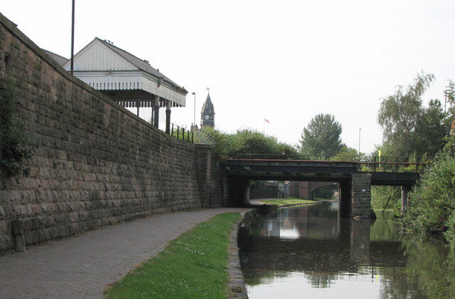 Nottingham Canal is seen near London Road in Nottingham, England, in this file photo. (© John Sutton (cc-by-sa/2.0) geograph.org.uk/p/1407521)