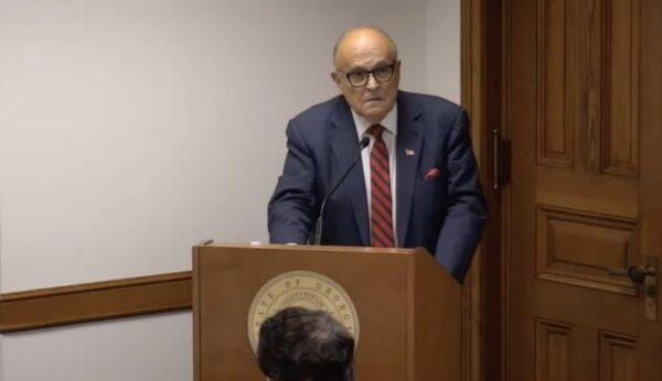 Rudy Giuliani in Georgia