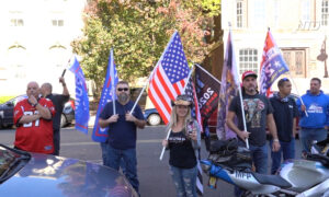 Trump Supporters Rally in Trenton