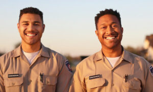 Father-Son Duo Makes History, Graduates From Texas Police Academy Together