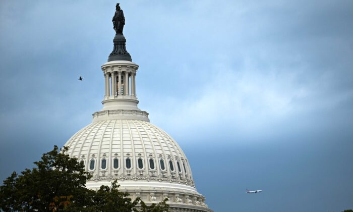 The U.S. Capitol building dome is seen in Washington on Oct. 1, 2020. (Erin Scott/Reuters)