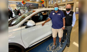 Helpful Veteran Gifted New Car, Named Hyundai Hometown Hero: 'It's Special What He Does'
