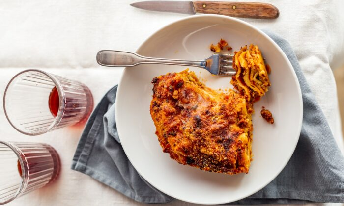 Moderation is key for a lasagne that is compact, crisp on the edges, and perfectly balanced, not too creamy nor too heavy. (Giulia Scarpaleggia)