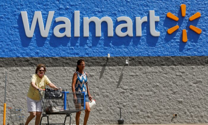 This photo shows Walmart store in Bradford, Penn., on July 20, 2020. (Brendan McDermid/ Reuters, File Photo)