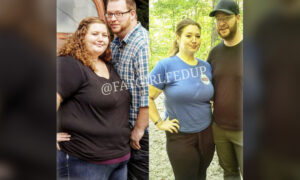 Overweight Couple Fed Up With Being Fat Embark on Weight Loss Journey, Lose 400lb Together