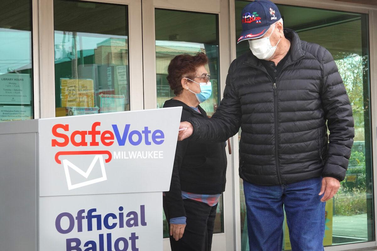 drop box ballot
