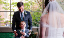 Bride Surprises Stepson With an Engraved Ring on Wedding Day: 'He Felt Really Special'