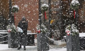 Lights Go Out, Roads Dicey As Wintry Storm Batters Northeast